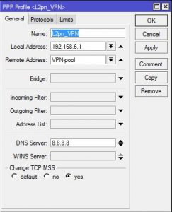 L2TP + IPsec VPN on Mikrotik router IOS 10 support | LinuxWin